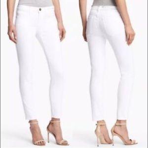 Current/Elliott New white stiletto Jeans 30